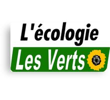 Europe Ecology, The Greens (Europe écologie – Les Verts EELV) Canvas Print