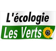 Europe Ecology, The Greens (Europe écologie – Les Verts EELV) Poster