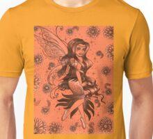 Orange Fantasy Fairy Unisex T-Shirt