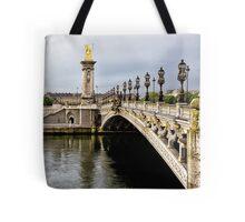 21  Pont Alexandre 111 @ Dusk Tote Bag