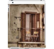 Balcony Chairs iPad Case/Skin