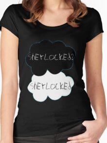 Sherlocked? Sherlocked Women's Fitted Scoop T-Shirt