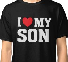 I Heart Love My Son - Parent Mom Dad T Shirt Classic T-Shirt