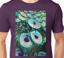 Peacock Feathers Graphic Unisex T-Shirt