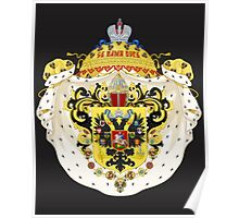 coat of arms three Poster