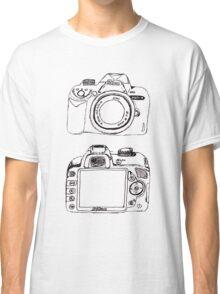 Nikon without White  Classic T-Shirt