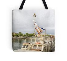 20  Houseboat on Seine Tote Bag