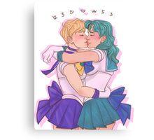 ♡ Haruka & Michiru ♡ Canvas Print