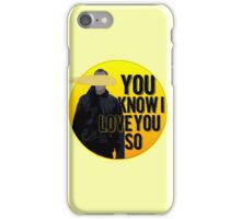 And it Was All Yellow iPhone Case/Skin