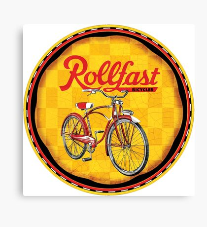 Rollfast Bicycles Canvas Print