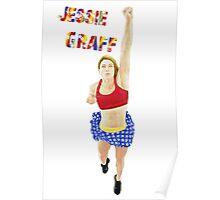 Jessie Graff American Ninja Warrior Poster