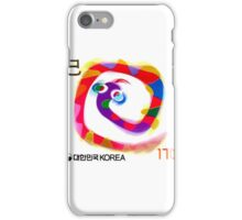 2000 Korea Year of the Snake Postage Stamp iPhone Case/Skin