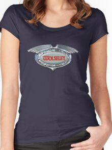 Wolseley Vintage Cars UK Women's Fitted Scoop T-Shirt