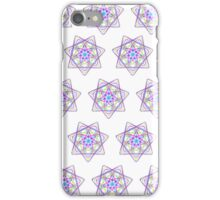 7 pointed spirograph 1 iPhone Case/Skin