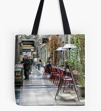 18  Browsing the Passages Tote Bag