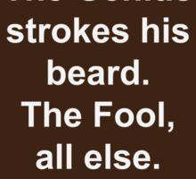 Beard-Collection - The Genius Sticker