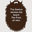 Beard-Collection - The Genius by DarkChoocoolat