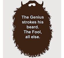 Beard-Collection - The Genius Photographic Print