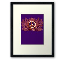 Peace Will Come Framed Print