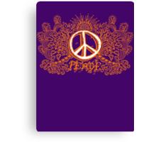 Peace Will Come Canvas Print