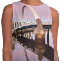 Sunset Bridge Contrast Tank