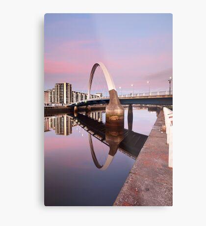 Sunset Bridge Metal Print