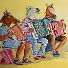 Horsing Around With Accordions by JennyArmitage