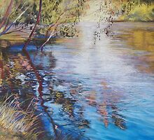 'Swirls & Ripples - Goulburn River' by Lynda Robinson