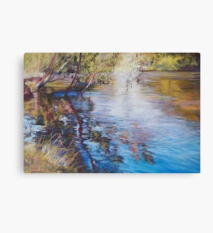 'Swirls & Ripples - Goulburn River' Canvas Print