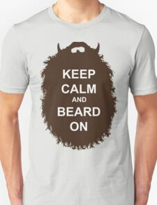 Beard-Collection - Keep Calm Unisex T-Shirt