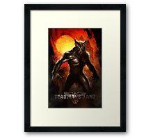 Deadman's Land Official Gear Framed Print