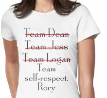 Team self-respect Rory Womens Fitted T-Shirt