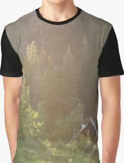Cabin in the Trees Graphic T-Shirt