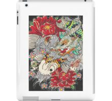 Koi dragon with koi fish iPad Case/Skin