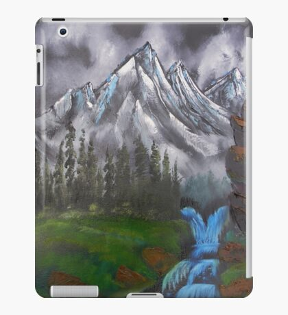 Mountain Landscape at Dusk  iPad Case/Skin