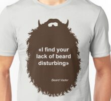 Beard-Collection - Lack of Beard Unisex T-Shirt
