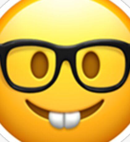 Emoji Nerd Sticker