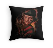 """Freddy Dreaming"" Throw Pillow"