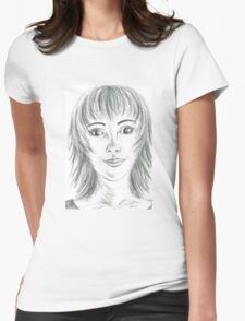 Portrait Stunning Womens Fitted T-Shirt