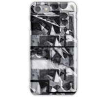 Geometric abstract stellated polyhedra make love 1 iPhone Case/Skin