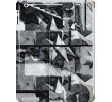 Geometric abstract stellated polyhedra make love 1 iPad Case/Skin