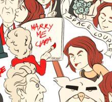 Twelve & Clara Sticker