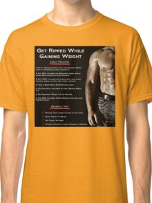 Getting Ripped - Infographic Classic T-Shirt