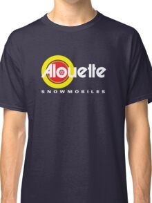 Alouette Vintage Snowmobiles Classic T-Shirt