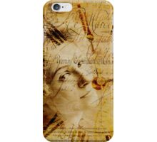 Remembrance of Times Past iPhone Case/Skin