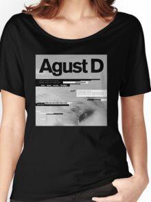 Agust D, 1st MiXTape: Agust D '1st Mixtape Cover' [t-shirts]/DTown Suga Women's Relaxed Fit T-Shirt