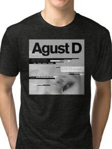 Agust D, 1st MiXTape: Agust D '1st Mixtape Cover' [t-shirts]/DTown Suga Tri-blend T-Shirt