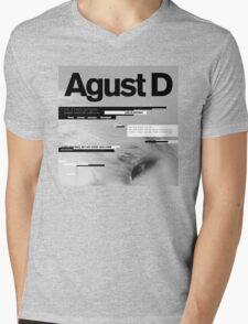 Agust D, 1st MiXTape: Agust D '1st Mixtape Cover' [t-shirts]/DTown Suga Mens V-Neck T-Shirt