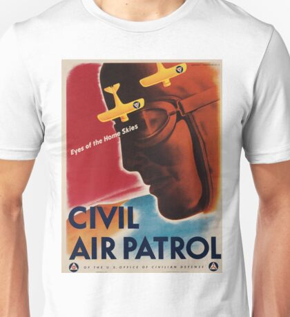 Vintage poster - Civil Air Patrol Unisex T-Shirt