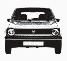 VW Golf MK1 Front One Piece - Short Sleeve